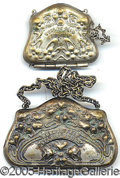 General Historic Events:World Fairs, 2 DIFFERENT 1904 ST. LOUIS WORLD'S FAIR CHANGE PURSES. 2 differe...