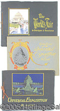 General Historic Events:World Fairs, 3 DIFFERENT SOUVENIR PUBLICATION BOOKLETS ST. LOUIS WORLD'S FAIR...