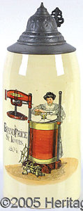 General Historic Events:World Fairs, ST. LOUIS WORLD'S FAIR TANKARD ADVERTISING GRAND PRICE WASHING M...