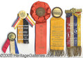 General Historic Events:World Fairs, 5 DIFFERENT ST. LOUIS WORLD'S FAIR CELEBRATION RIBBONS. Lot o...