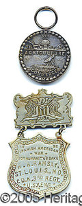 Military & Patriotic:Spanish American War, SPANISH AMERICAN WAR MEDALS - 1 AWARDED TN - 1 MO. Two different...