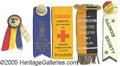 General Historic Events:World Fairs, 5 DIFFERENT RIBBONS/PINBACKS SPECIAL DAYS AT THE ST. LOUIS WORLD...