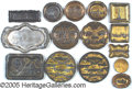 General Historic Events:World Fairs, 15 METAL ST. LOUIS WORLD'S FAIR SOUVENIR PIN TRAYS. 15 m...
