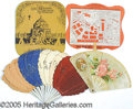 General Historic Events:World Fairs, 4 ST. LOUIS WORLD'S FAIR FANS. 4 different souvenir fans from th...