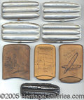 General Historic Events:World Fairs, 8 DIFFERENT ST. LOUIS WORLD'S FAIR CIGAR CASES. 8 different S...