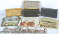General Historic Events:World Fairs, 4 BOXED SETS STEREO VIEWS ST. LOUIS WORLD'S FAIR. Four differ...