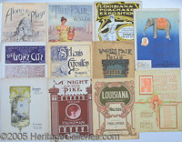 ST. LOUIS WORLD'S FAIR SHEET MUSIC - LOT OF 11. P STRONG  /STRONG Lot of 11 differentpieces of St. L...