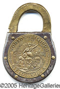 General Historic Events:World Fairs, ST. LOUIS WORLD'S FAIR LOCK. Sensational 1904 World's Fa...