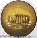 Political:3D & Other Display (1896-present), WHITE HOUSE PLATE OWNED BY WOODROW WILSON AS PRESIDENT. Attra...