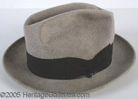 FDR'S PERSONAL TRADE-MARK FEDORA. P With the possible exception of his cigarette holder, no personal accessory could be...