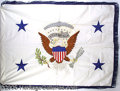 Political:3D & Other Display (1896-present), OFFICIAL 1987 VICE PRESIDENTIAL FLAG OF GEORGE H. W. BUSH. Pr...