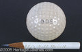 Political:3D & Other Display (1896-present), PERSONALLY-OWNED EISENHOWER GOLF BALL AND PENCIL. The ball is...
