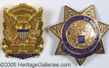 Political:Inaugural (1789-present), COLLECTION OF OFFICIAL POLICE INAUGURAL BADGES. Popular, highly-...