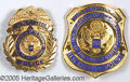 Political:Inaugural (1789-present), FOUR OFFICIAL U.S. CAPITOL POLICE INAUGURAL BADGES. These col...