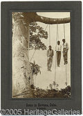 Photography:Cabinet Photos, PHOTO BY WATERMAN SPANISH WAR SOLDIERS HANGING. Dated 1899 and p...