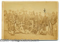 """Photography:CDVs, CIVIL WAR SOLDIER GROUP PHOTO """"THE AMERICAN GUARD"""" 71ST NY. Inte..."""