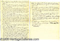 Antiques:Black Americana, 1839 WILL AND TESTAMENT. April 15, 1839, Will and Testament B...