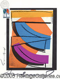 Autographs:Artists, ANDY WARHOL SIGNED LIMITED EDITION PRINT. 8 ...