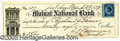 Autographs:Military Figures, GENERAL BEAUREGARD SIGNED CHECK. Ultimately, P.G.T. Beauregard w...