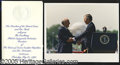 "Political:Miscellaneous Political, BUSH-GORBACHEV SUMMIT. Includes an 8 x 10"" color photo of Bush m..."