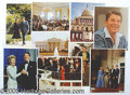 Photography:Official Photos, NINE DIFFERENT OFFICAIL WHITE HOUSE REAGAN PHOTOS. Nine differen...