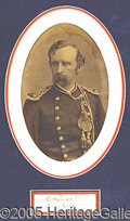 Autographs:Military Figures, GEORGE ARMSTRONG CUSTER AND 1876 PHOTO. One of th...