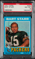 Football Cards:Singles (1970-Now), 1971 Topps Bart Starr #200 PSA NM-MT 8....