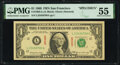 Fr. 1903-L $1 1969 Specimen Federal Reserve Note. PMG About Uncirculated 55