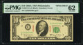 Small Size:Federal Reserve Notes, Fr. 2017-C $10 1963A Specimen Federal Reserve Note. PMG Uncirculated 62.. ...