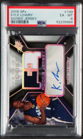 Basketball Cards:Singles (1980-Now), 2006 SPx Kyle Lowery Autograph Rookie Jersey #140 PSA EX-MT 6 - Serial Numbered 643/1199....