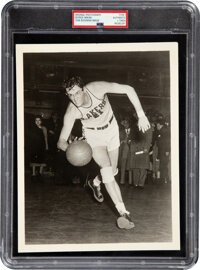 1940's George Mikan Original Photograph, PSA/DNA Type 1 - Image Used for 1948 Bowman Rookie!