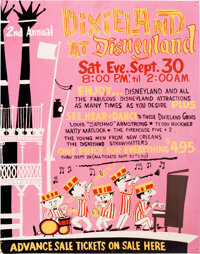 """""""Dixieland at Disneyland"""" and """"Special Gala New Years Eve Party at Disneyland"""" Posters (Walt Disney..."""