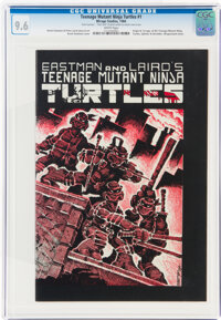 Teenage Mutant Ninja Turtles #1 (Mirage Studios, 1984) CGC NM+ 9.6 White pages