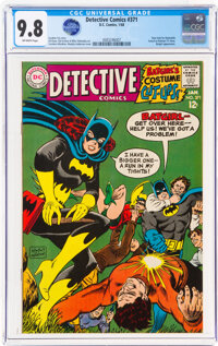 Detective Comics #371 (DC, 1968) CGC NM/MT 9.8 Off-white pages