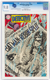 Detective Comics #378 (DC, 1968) CGC NM/MT 9.8 Off-white to white pages