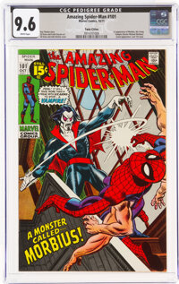 The Amazing Spider-Man #101 Twin Cities Pedigree (Marvel, 1971) CGC NM+ 9.6 White pages