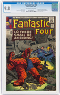 Silver Age (1956-1969):Superhero, Fantastic Four #43 (Marvel, 1965) CGC NM/MT 9.8 Off-white to white pages....