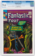 Silver Age (1956-1969):Superhero, Fantastic Four #37 (Marvel, 1965) CGC NM+ 9.6 Off-white to...