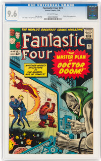Fantastic Four #23 (Marvel, 1964) CGC NM+ 9.6 Off-white pages
