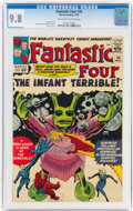 Silver Age (1956-1969):Superhero, Fantastic Four #24 (Marvel, 1964) CGC NM/MT 9.8 Off-white to white pages....
