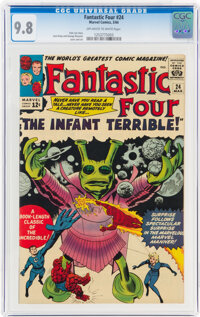 Fantastic Four #24 (Marvel, 1964) CGC NM/MT 9.8 Off-white to white pages
