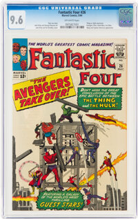 Fantastic Four #26 (Marvel, 1964) CGC NM+ 9.6 Off-white pages