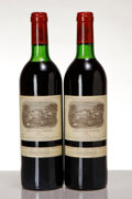 Red Bordeaux, Chateau Lafite Rothschild 1982 . Pauillac . 1ts, 1vhs, 2lscl, 1lcc. Bottle (2). ... (Total: 2 Btls. )