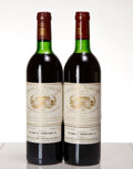 Red Bordeaux, Chateau Margaux 1981 . Margaux . 2bn. Bottle (2). ... (Total: 2 Btls. )