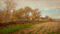 Paintings, Albert Babb Insley (American, 1842-1937). Ealy Spring. Oil on canvas. 14 x 24 inches (35.6 x 61.0 cm...