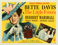 """The Little Foxes (RKO, 1941). Fine/Very Fine on Paper. Half Sheet (22"""" X 28"""") Style A"""