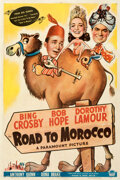 """Movie Posters:Comedy, Road to Morocco (Paramount, 1942). Fine/Very Fine on Linen. One Sheet (27"""" X 41"""").. ..."""