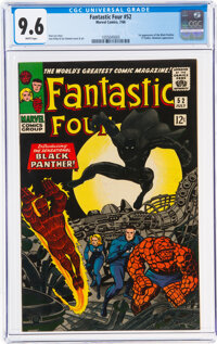 Fantastic Four #52 (Marvel, 1966) CGC NM+ 9.6 White pages