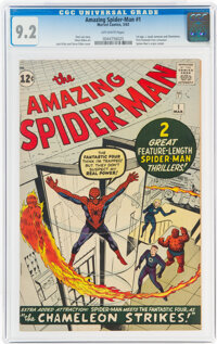 The Amazing Spider-Man #1 (Marvel, 1963) CGC NM- 9.2 Off-white pages