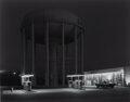 Photographs, George Tice (American, 1938). Petit's Mobil Station, Cherry Hill, New Jersey, 1974. Selenium toned gelatin silver, print...
